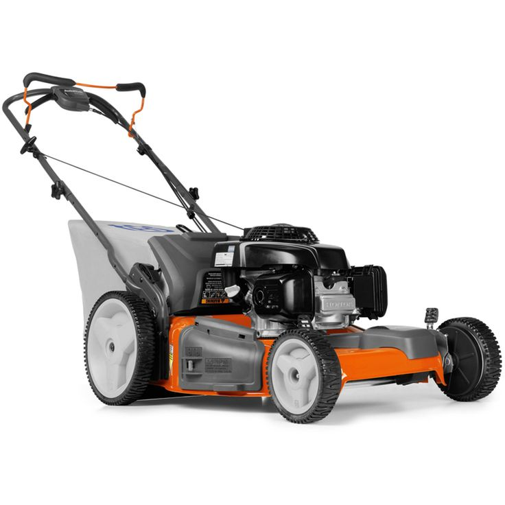 Husqvarna 160cc 22-in Self-Propelled Front Wheel Drive Residential Gas Lawn Mower with Mulching Capability