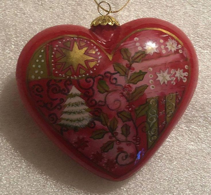 Li Bien Heart Ornament In 2020