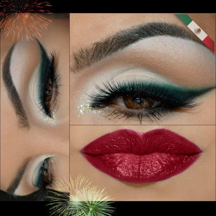 Maquillaje Patrio VIVA MEXICO!!!