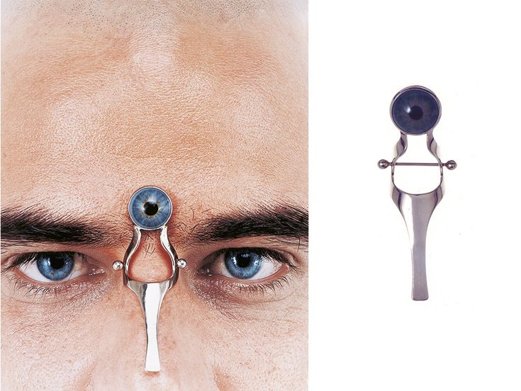 Marina Sheetikoff Piece: An Eye On The Forehead, 2001 Gold ...