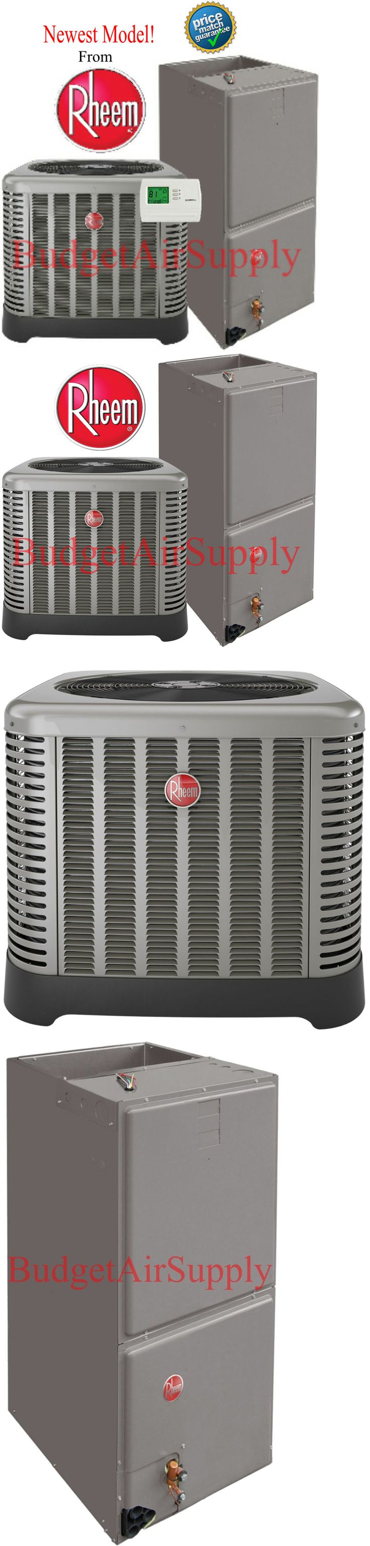 Air Conditioners 69202: Rheem Ruud 5 Ton 16 Seer A C Split System Ra1660aj1+Rh1t6024stanja Newest!! -> BUY IT NOW ONLY: $2575 on eBay!