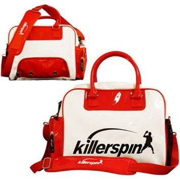 Killerspin 605-03 Table Tennis Krew Bag, White 55.82$ Twin-zippered shoe compartment with ventilation outlets Twin-zippered accessory or ball pocket Meshed bottle pocket, Shoulder strap and handles for the two-way carrying..Read More Here: http://tennistableshop.com/product/killerspin-605-03-table-tennis-krew-bag-white/