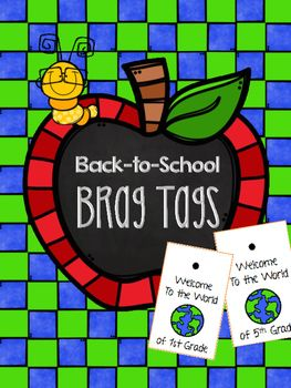 I think each grade is a world unto itself. This brag tag is designed for…