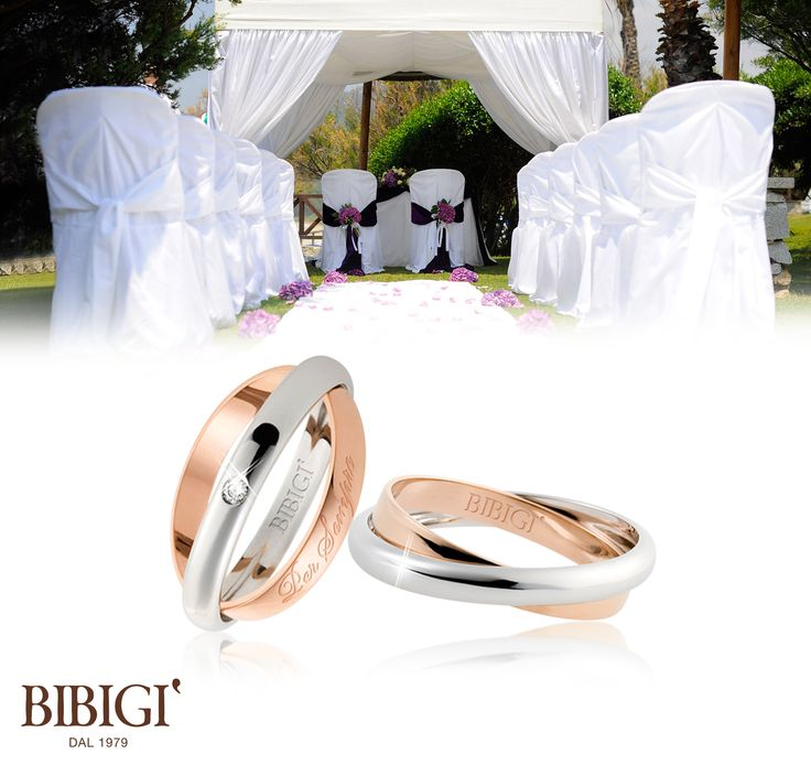 Bibigì #weddingRing White gold ring with diamonds. A perfect mix of ...