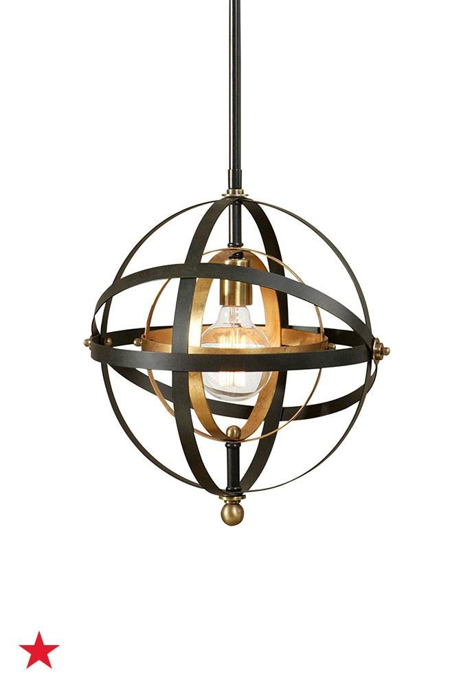 Uttermost rondure 1 light mini pendant