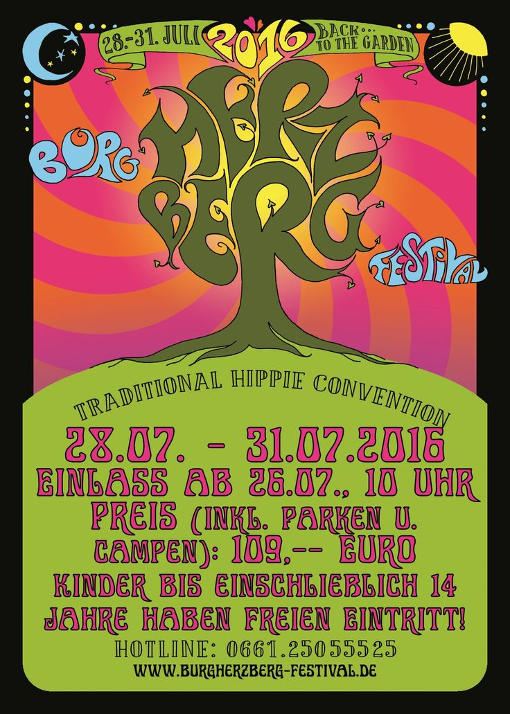 Ticket - Burg Herzberg Festival 28.-31.7.2016  Walter Trout , Nigel Kennedy plays Hendrix , Element of Crime , Kadavar , Pain of Salvation , Lola Marsh , Funny van Dannen , Orange , Miller Anderson , DeWolff , Greenleaf , Electric Moon , ... http://www.hurricanerecords.de/product_info.php?products_id=95357
