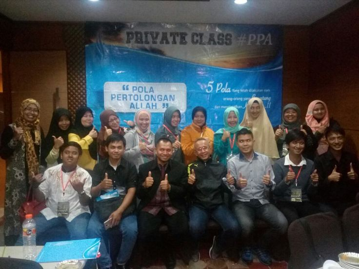 Alhamdulillah, acara Private Class PPA Bandung Angkatan 54 yang di selenggarakan hari Ahad Tgl 26 Maret 2017 di Hotel Verona Palace jln:Dr Surya sumantri no 36 Bdg.