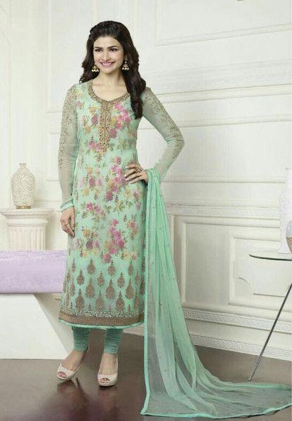 #Kaseesh #Prachi Indian #SalwarKameez Suit Vol16 3577 #Turquoise