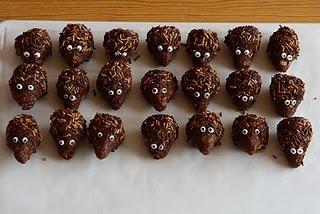 Igelkott-chokladbollar!