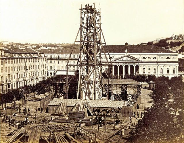 Lisboa de Antigamente: Monumento a Dom Pedro IV