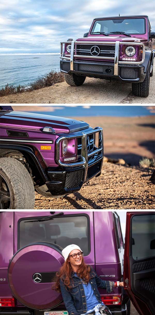 how about a mercedes benz g class in an unique color the finish