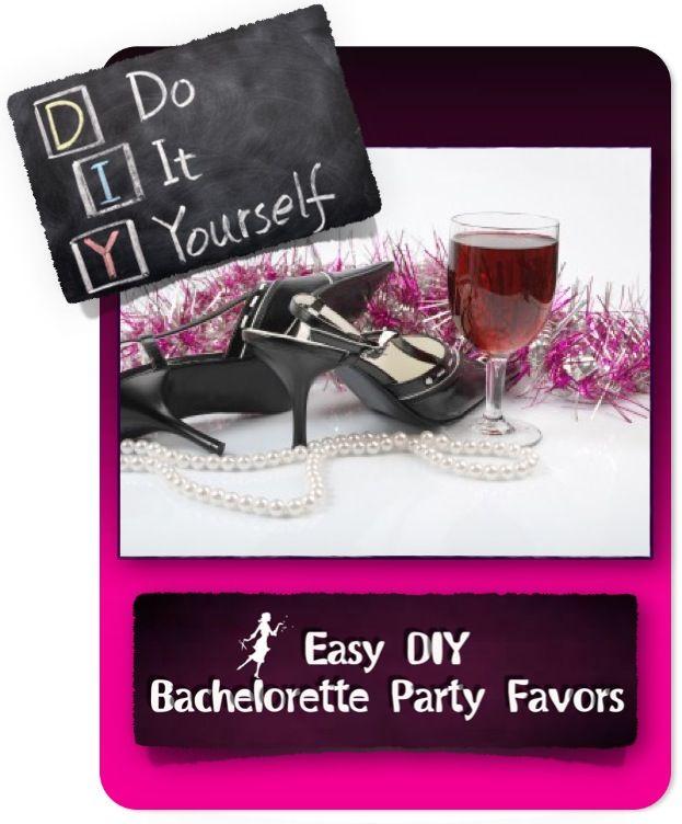Bachelorette Party Favors | DIY Bachelorette Party Favors – Bachelorette Party D