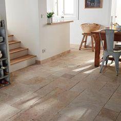 Carrelage sol et mur beige Opus 4 formats Romain