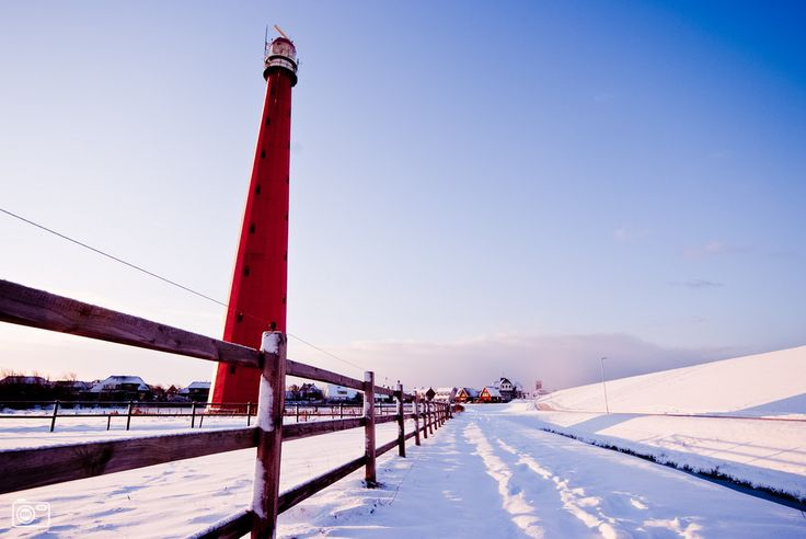 Winter in Den Helder