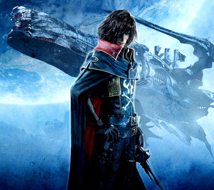 Space Pirate Captain Harlock by carmen307