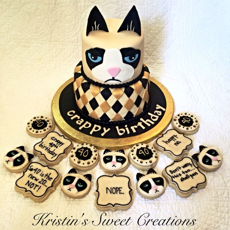 Grumpy Cat Cake Design : Best 25+ Grumpy cat cakes ideas on Pinterest Cat ...