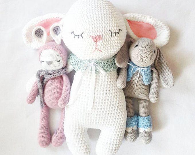 Conejo Amigurumi Patron Gratis : Best amigurumi images crochet dolls amigurumi