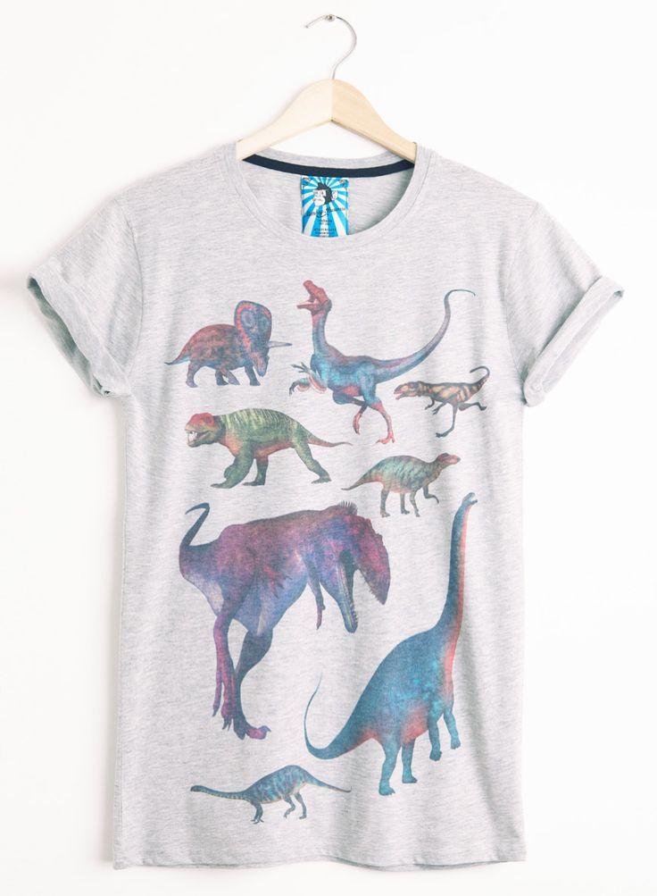 Women's Retro Dinosaurs Tee from PhixClothing.com