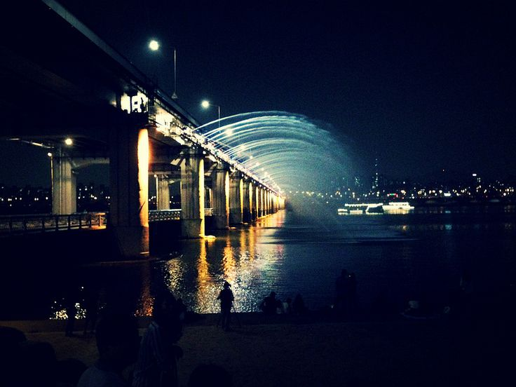 Hang out at Banpo Bridge Made in the West Indies: Seoul, 3 Absolutely Free Things You Must Do