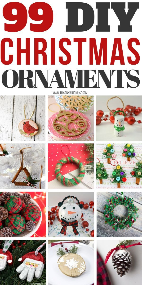 Add An Extra Special Ornament Or Two To Your Holiday Tree This Year By Making One More Of These 99 Gorgeous BEST DIY Christmas Ornaments