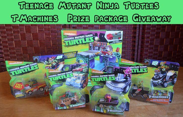 Teenage Mutant Ninja Turtles T-Machines Prize Packgae Giveaway