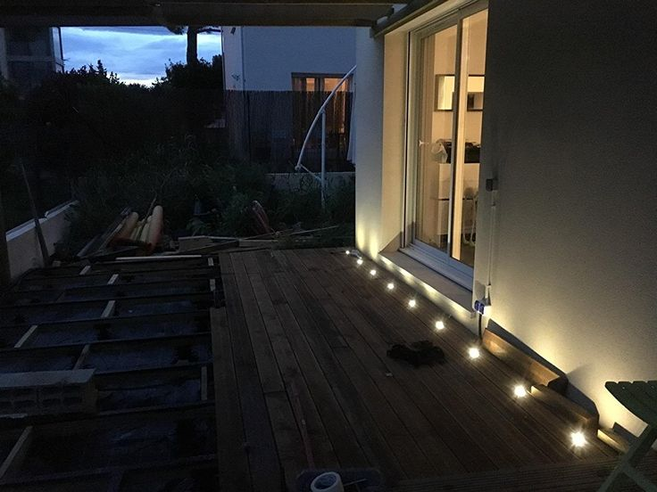 11 best low voltage deck lighting images on pinterest fvtled low voltage led deck lighting kit stainless steel waterproof outdoor landscape garden yard patio step decoration lamps led in ground lights aloadofball Image collections