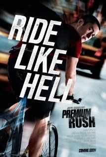 Premium Rush 2012  PG_13 - 91 min  -  Action | Thriller    ******In Manhattan, a bike messenger picks up an envelope that attracts the interest of a dirty cop, who pursues the cyclist throughout the city.  Stars:  Joseph Gordon-Levitt, Michael Shannon and Dania Ramirez