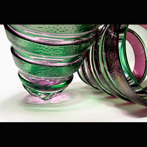 Find the clean, crisp blown and coldworked glass art of Mark Leputa as well as other contemporary fine art & glass at Raven Gallery in Aspen, Colorado.