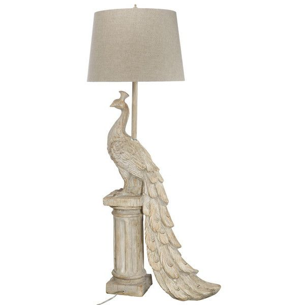 A&B Home Peacock Tall Table Lamp
