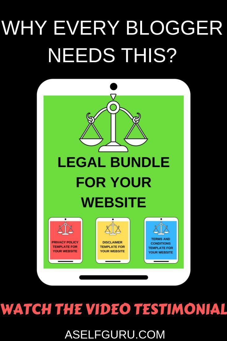 Find Out Why Every Blogger And Online Entrepreneur Needs This Legal Bundle For Their Website It Includes T Increase Blog Traffic Make Money Blogging Blog Tips