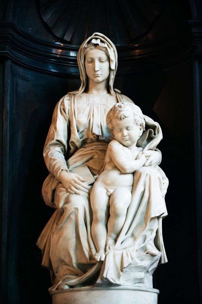 Michelangelo's 'Madonna of Bruges'...Monument's Men's Art Recoveries