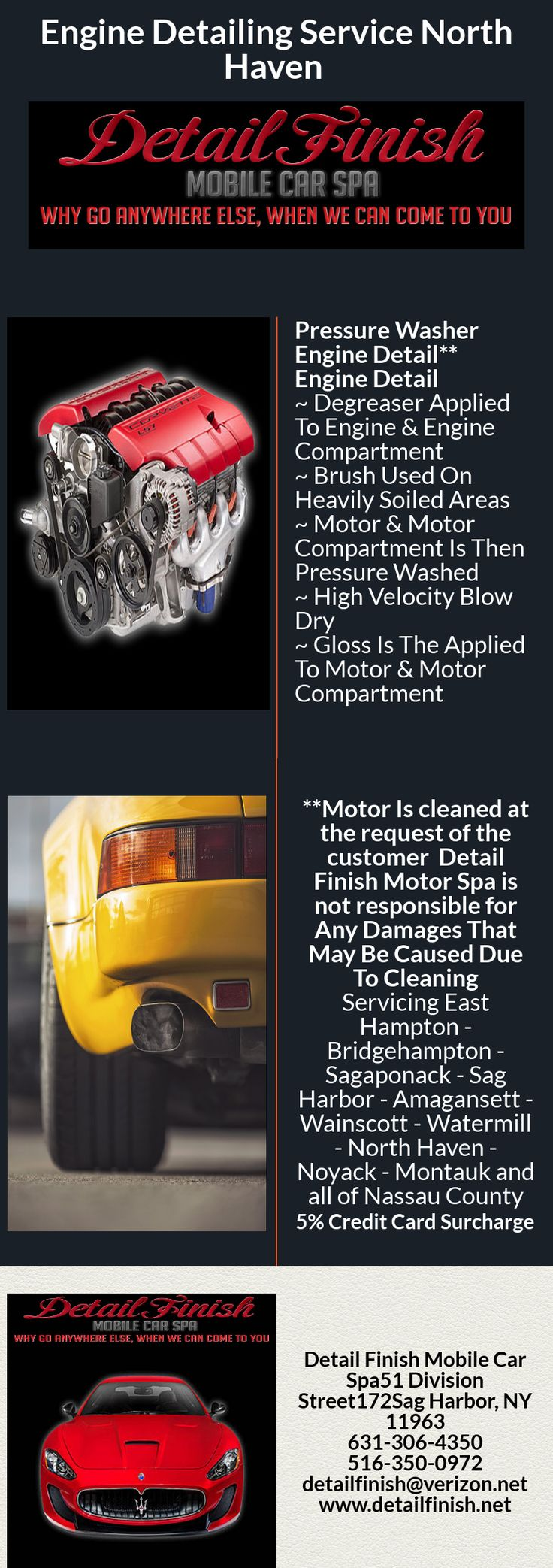 Best 25 detail car wash ideas on pinterest professional car welcome to detail finish mobile car spa we offer car wash amagansett ny 11930 solutioingenieria Gallery