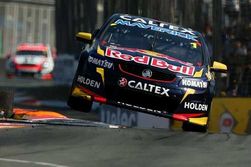 Totalposter.com - Jamie Whincup drives the #1Red Bull Racing Australia Holden during the Gold Coast 600, which is round 12 of the V8 Supercars Championship Series at the Surfers Paradise Street Circuit on the Gold Coast, Australia
