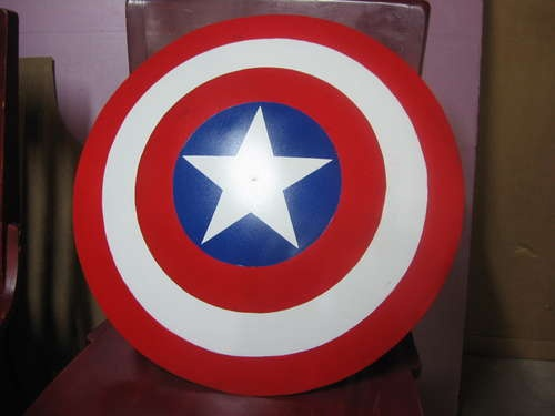 Captain America Shield made from an old Satellite dish