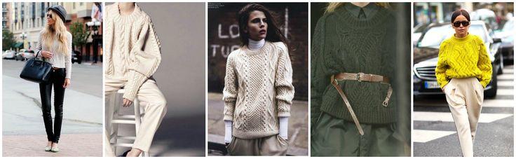 Aran sweater with Trouser