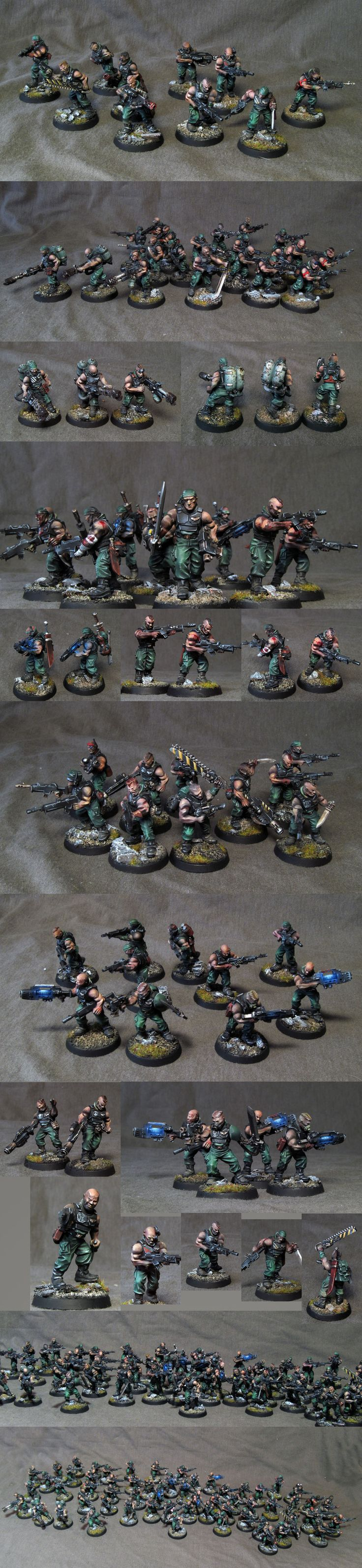 Imperial Guard troops (catachan)