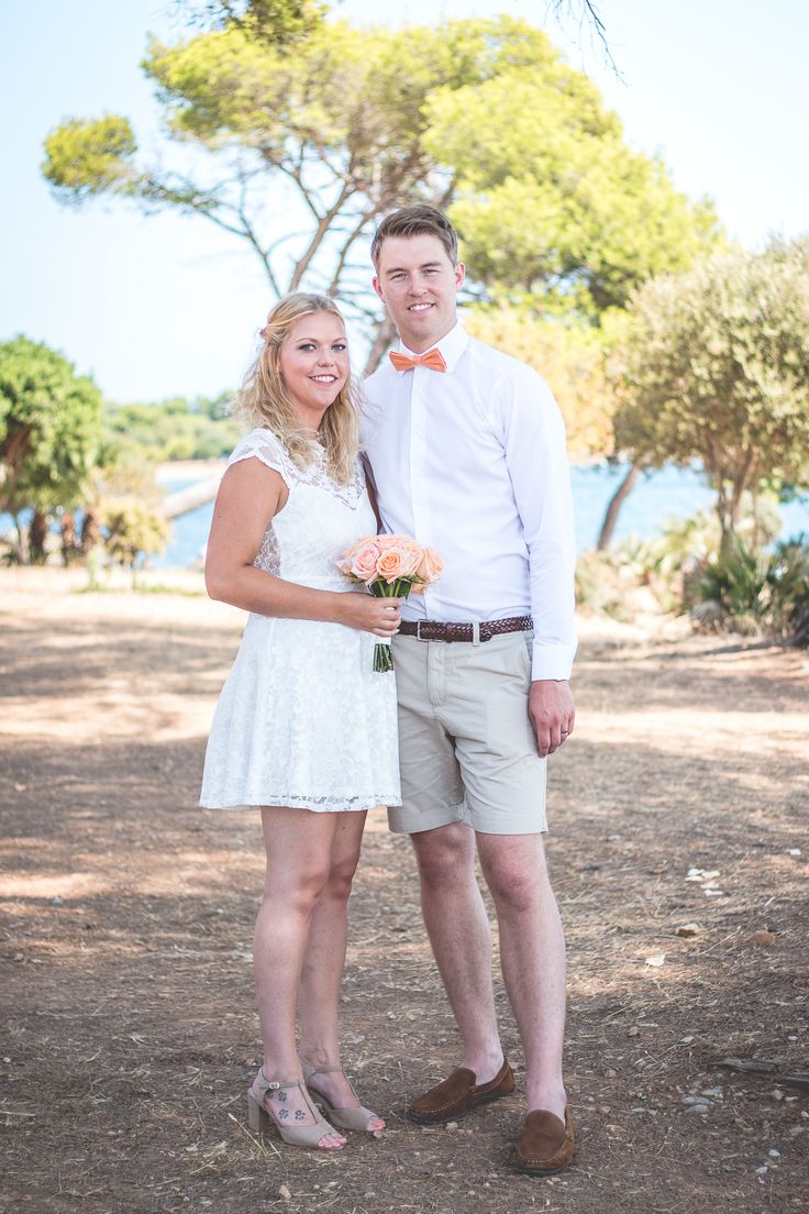 Wedding Portrait. Alcanada, Mallorca. Photo: Ida Carr