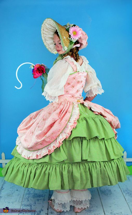 Lynette: I was thrilled when my daughter asked if she could be Little Bo Peep this year There is nothing cuter than a little girl in a frilly, feminine costume! The...