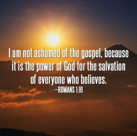 Romans 1:16 | fc3 Fort Worth | Pinterest | Roman, Blessed ...