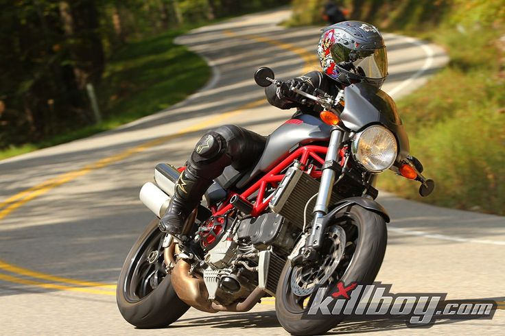 Tail of the Dragon, on my Ducati S4R....vroom vroom!