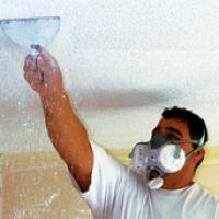 Popcorn ceiling removal, popcorn ceiling, popcorn ceiling repair, popcorn textured ceiling removal >> drywall repair renovation --> http://drywallrepairman.com/how-to-remove-ceiling-texture-diy-guide/