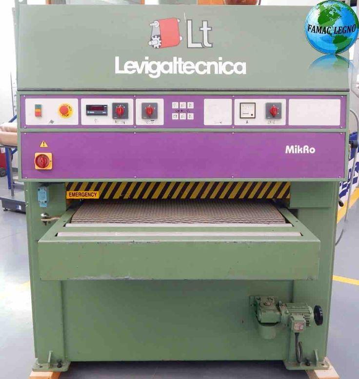 CALIBRATRICE / LEVIGATRICE USATA Modello Levigaltecnica MikRo