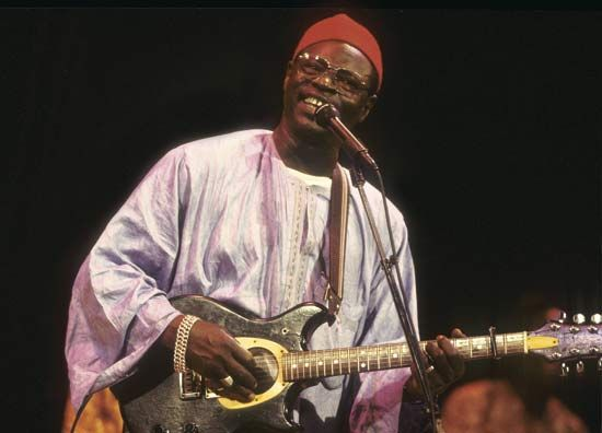 """Ali Farka Touré (Ali Ibrahim Touré),   (born Oct 31, 1939, Kanau, French Sudan [now in Mali]—died March 7, 2006, Banako, Mali), Malian guitarist who , was one of the most renowned artists in world music and a national hero in Mali. Touré, who as a child acquired the nickname """"Farka"""" (Songhai: """"donkey"""") for his strong will, perceived music as a spiritual calling."""