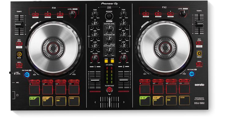 Discover the key features of the Pioneer DJ DDJ-SB2, Portable 2-channel controller for Serato DJ (black)