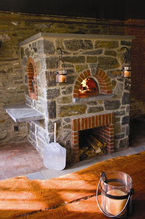 Stone Pizza Oven - Heritage Mica Pinnacle Stone Products
