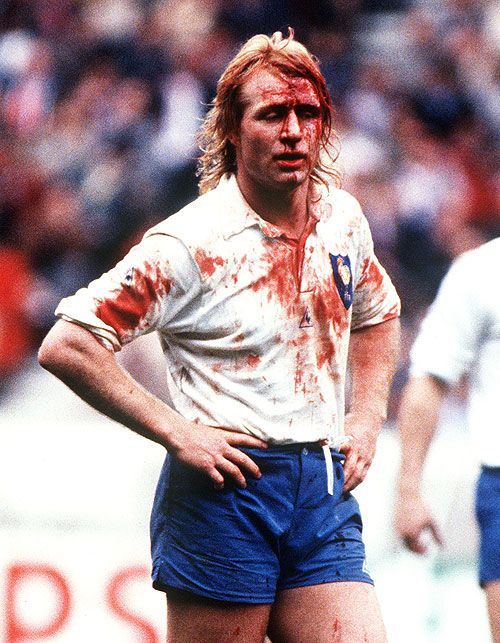 Jean-Pierre Rives I know he is not English but he was a great play to watch when I was a kid