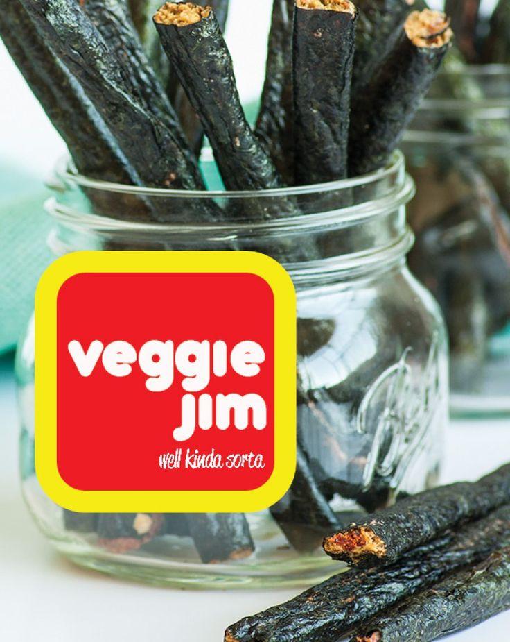 Vegan Slim Jims Veggie Jims - Flo and Grace