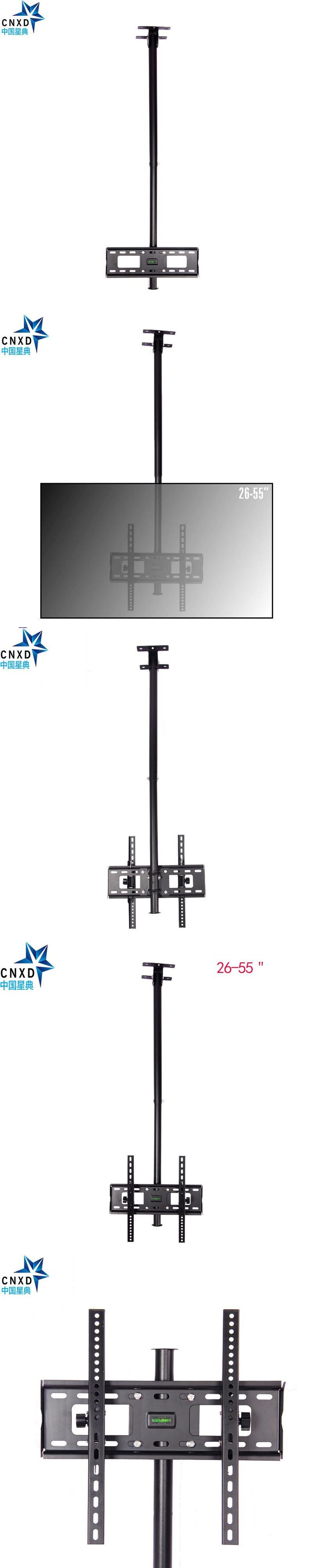 """Adjustable Extension Ceiling TV Mount Fits most 26-55"""" LCD LED Plasma Monitor Flat Panel Screen Display with VESA 400*400"""