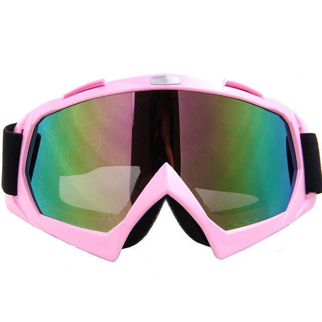 Pro-biker Winter Ski Snow Snowboard Snowmobile Goggles Motorcycle Motocross Off-Road Eyewear Downhill Dirt Bike ATV Glasses