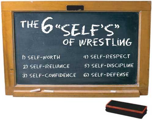 "6 ""selfs"" of wrestling"